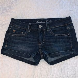 American Eagle Outfitters Dark Wash Denim Shorts